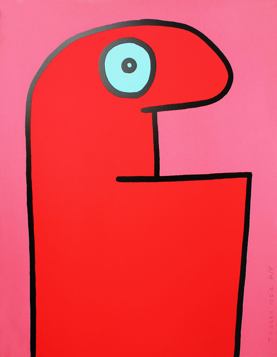 Thierry Noir Red Head Howard Griffin Prints