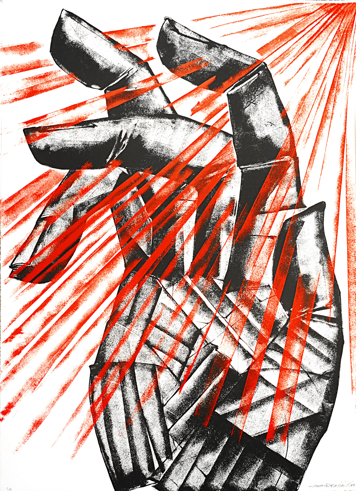 "<a href=""https://howardgriffinprints.com/artists/giacomo-bufarini-run/"">Giacomo Bufarini</a> / <a href=""https://howardgriffinprints.com/print/giacomo-bufarini-run/light-in-dark//""><em>A Light In The Dark (Hope) </em></a>"